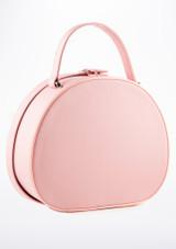 Roch Valley Ballerina Vanity Case Pink back. [Pink]