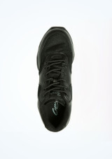Capezio Low Top Dance Sneaker Black #3. [Black]