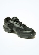 Capezio Low Top Dance Sneaker Black. [Black]