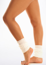 Tappers & Pointers Kids Legwarmers White. [White]