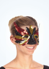Sequin Mix Eyemask Black.