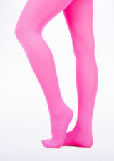 Neon Tights Pink. [Pink]