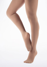 Move Footed Dance Tights Tan main image. [Tan]