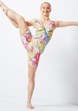 Alegra Patterned Cycle Unitard colour swatch #2. [Patterned]