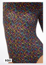 Alegra Patterned Deanna Unitard colour swatch #5. [Patterned]