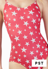 Alegra Girls Patterned Blaine Catsuit front #4. [Patterned]
