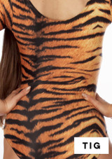 Alegra Girls Patterned Blaine Catsuit front #6. [Patterned]