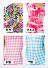 Alegra Girls Patterned Hotpants colour swatch #3.
