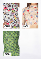 Alegra Girls Patterned Hotpants colour swatch #7.