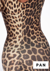 Alegra Girls Patterned Deanna Unitard front #7. [Patterned]