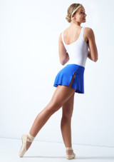 Ballet Rosa Pull On Skirt Royal Blue Back-1 [Royal Blue]