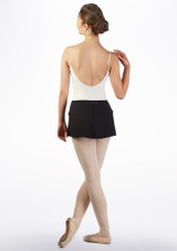 Ballet Rosa Pull On Skirt Black back. [Black]