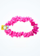 Assorted Hawaiian Lei Pink front. [Pink]