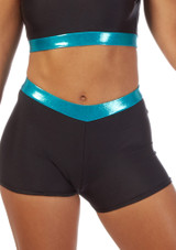 Alegra Fuse High Waist Brief Blue front #2. [Blue]