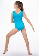 Alegra Fizz Gymnastics Leotard Blue back. [Blue]