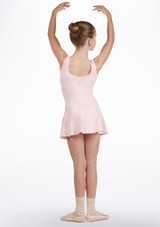 So Danca Girls Tank Skirted Leotard Pink back. [Pink]