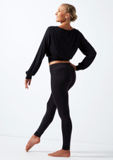 Move Dance Alive Warm Up Top Black back. [Black]