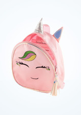 Capezio Groovycorn Backpack Pink side. [Pink]