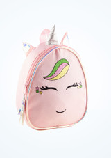 Capezio Groovycorn Backpack Pink front. [Pink]