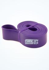 Tendu Stretch Loop Purple Front-2 [Purple]