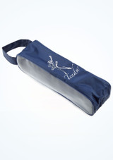 Tendu Breathable Pointe Shoe Bag Blue side #2. [Blue]