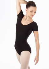 Bloch Cavalier Leotard Black front. [Black]