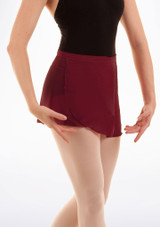 Bloch Professional Wrap Dance Skirt Red #2. [Red]