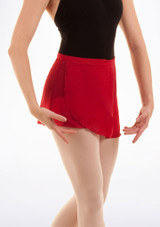 Bloch Professional Wrap Dance Skirt Red. [Red]