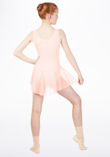 Move Kirsty Skirted Leotard Pink back. [Pink]