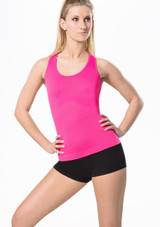 Move Piera Seamless Top Pink front. [Pink]