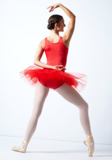 Alegra Pull On Practice Tutu Red Back-1 [Red]