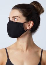 Move Dance Black Face Mask Set - 2 Pack Black -1 [Black]
