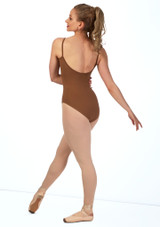 Bloch Nejor Camisole Leotard Tan back.