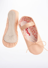 Capezio Daisy Full Sole Ballet Shoes Pink. [Pink]