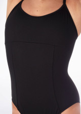 Bloch Dolly Double Strap Leotard Black #3. [Black]