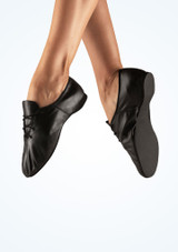 Bloch Essential Full Sole Jazz Shoe Black. [Black]