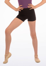 Move Thalia Girls Dance Shorts Black. [Black]