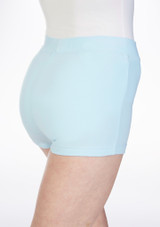 Move Thalia Girls Dance Shorts Blue. [Blue]