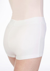 Move Thalia Girls Dance Shorts White. [White]