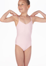 Repetto Debutant Girls Camisole Leotard Pink. [Pink]