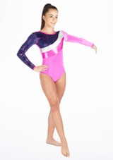 Tappers & Pointers GYM31 Gymnastics Leotard Pink. [Pink]