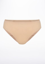 Intermezzo Seamless Dance Brief Tan front. [Tan]