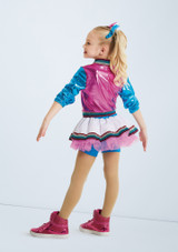 Weissman Everyday Popstars Blue-Pink back. [Blue-Pink]
