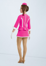 Weissman Fly Me To The Moon Pink back. [Pink]