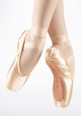 Bloch Serenade S0131S Pointe Shoe Strong Shank Pink #2. [Pink]