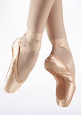 Bloch Demi Pointe Training Pointe Shoe Pink #2. [Pink]