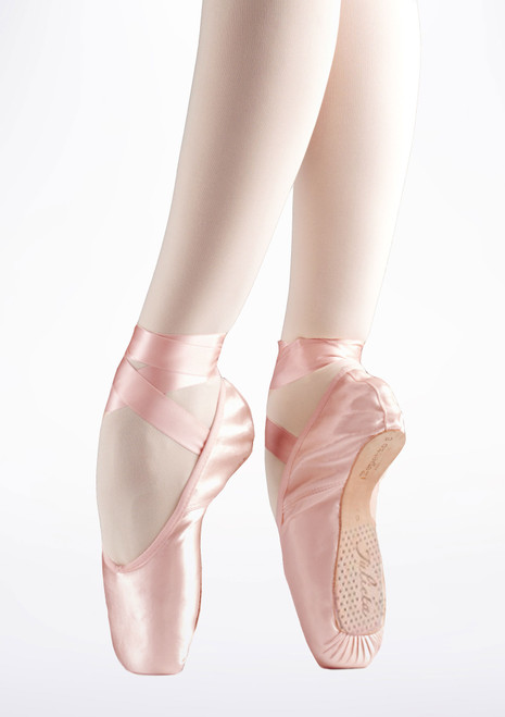 Repetto Julieta Pointe Shoe Pink main image. [Pink]