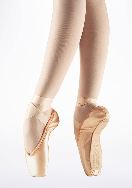 Freed Studio Pro V Pointe Shoe Pink. [Pink]