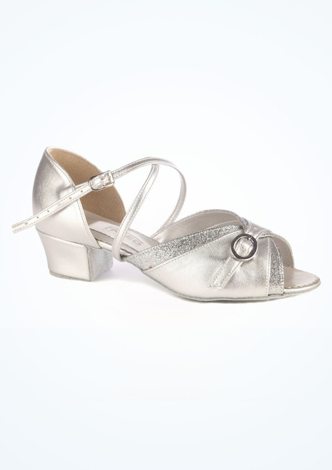 Freed Lucy Ballroom Shoe 1.5 Silver. [Silver]""