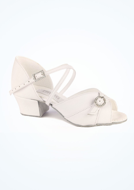 Freed Lyla Ballroom Shoe 1.5 White. [White]""